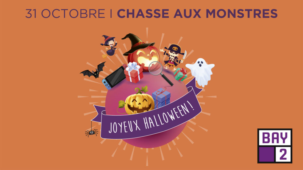 Halloween chasse aux monstres Centre commercial Bay 2 Collégien Torcy