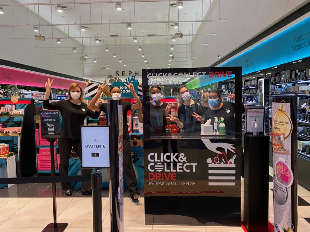 Click and collect Sephora Bay 2 Torcy Collégien