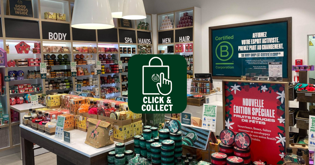 Click and collect The Body Shop Bay 2