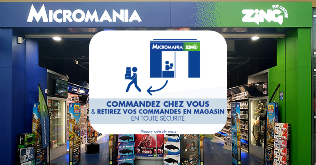 Click and collect Micromania bay 2