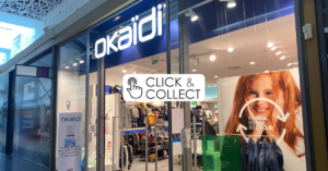 Click and collect Okaïdi Bay 2